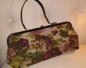 My Floral Vintage Carpet Handbag at Nestbox Vintage