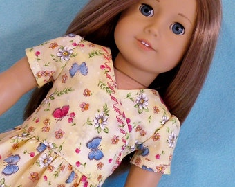 American Made Dress  & Shoes for 18 inch Doll