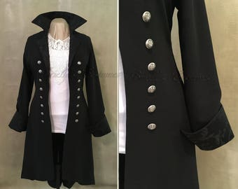 Victorian Gothic Pirate Coat Womens Size Large