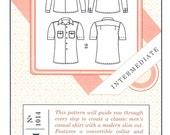Sale!  Negroni shirt pattern (C1014) - Colette patterns