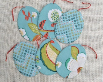 Easter Egg Gift Tags /Hand Embroidered
