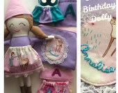 RESERVED for SABRINA - Custom Dress Up Doll for Annalise