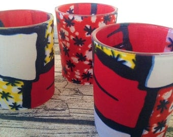 African wedding decor, Wedding decor African, Decor African wedding, African decor wedding Candles, table decor x 3