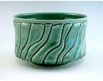 Carved Porcelain Bowl