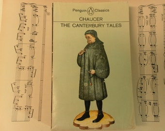 The Canterbury Tales by Chaucer A Vintage Penguin Classic 1977