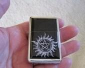 Supernatural Anti Possession Pentagram Refillable Lighter