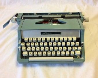 Majestic 812 Typewriter