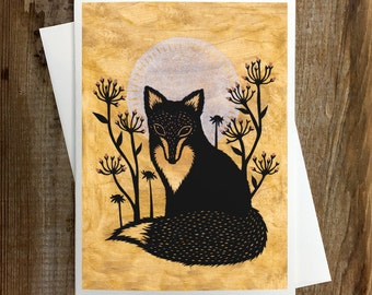 The Wilderness Listens - Greeting Card