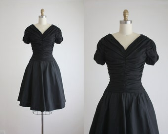 1950s twilight party dress