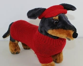 50% OFF SALE madmonkeyknits - Small dog, 4 Ply Coat Visor and Pixie Hat knitting pattern pdf download - Instant Digital File pdf knitting pa