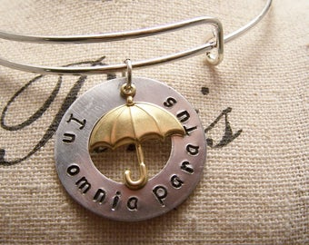 In Omnia Paratus Bracelet.W.Ready For Anything: Gilmore Girls. Rory. Logan. Life and Death Brigade. Adjustable
