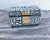 Handmade White Crackle Porcelain Jewelry Box