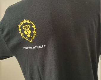 World of Warcraft - For the Alliance! -  Men's T shirt