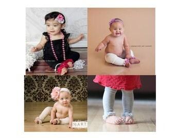 BOGO 50% Baby Toddler Leg Warmers Free Shipping