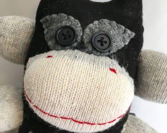 Bruce the Cosplaying Batman Fan  Sock Monkey