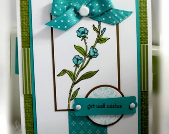 Stampin' Up Get Well Wishes Card