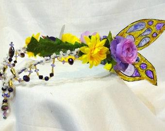 Royal Purple Fairy Crown
