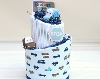Race Car Baby Shower - Car Shower Decor - Boy Diaper Cake - Unique Baby Gift - Baby Boy Gift - Corporate Baby Gift - Vroom Vroom Shower