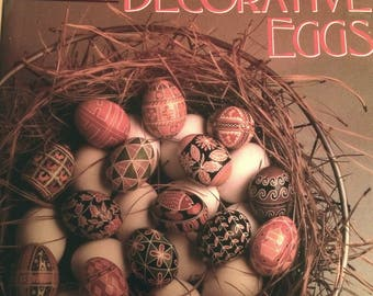 DECORATIVE EGGS Coffee Table Book - Hardcover by Candace Ord Manroe
