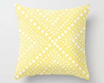 OUTDOOR Throw Pillow - Butter Yellow Patio Cushion - Modern Geometric Outside Pillow - Outdoor Pillow 16 18 20 inch Yellow Pillow