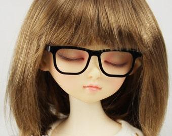 New fashion Full-Rim Dolls Glasses fit 1/4 BJD MSD mini Super Dollfie Black