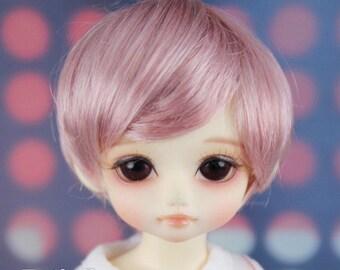 """Fatiao - New Dolls Wig Dollfie Yo-SD 1/6 BJD 6-7"""" size - Deep Pink"""