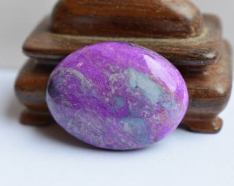 Beautiful Sugilite/Richterite  Oval Cabachon - 30x22mm