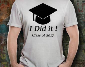 Class of 2017 T-Shirt, Graduation T-Shirt, Graduation Shirt, Graduation Gift