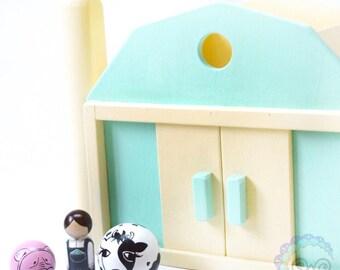 the classic collection - barn, farmer, & animals set