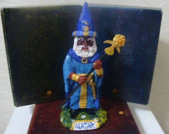 The Blue Wizard Of The Far South (6 inch range)