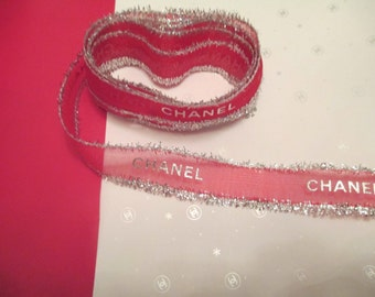 100% Authentic CHANEL Holiday Wrapping Paper - CHANEL Gift Wrap & RIBBON Newest Chanel Gift Wrap