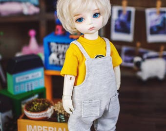USD Baggy cotton overall - Oetmeal