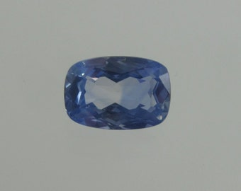 Natural Blue Sapphire, Faceted, Loose Gemstone