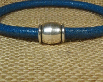 Barrel Magnetic Bracelet Clasps for 5mm Round Leather - Antique Silver - Choose Your Quantity