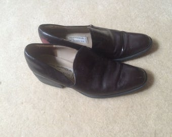 vintage via spiga made in italy loafers sz 5.5