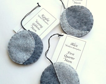 Unique felt ornaments, Birthday Gifts, Baby Gift, Teenager Gift, non-gender gift, personalized gifts, custom gifts