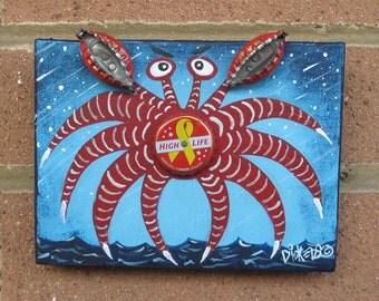 Miller High Life Crab
