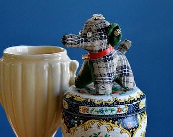 Vintage Handmade Elephant Pincushion