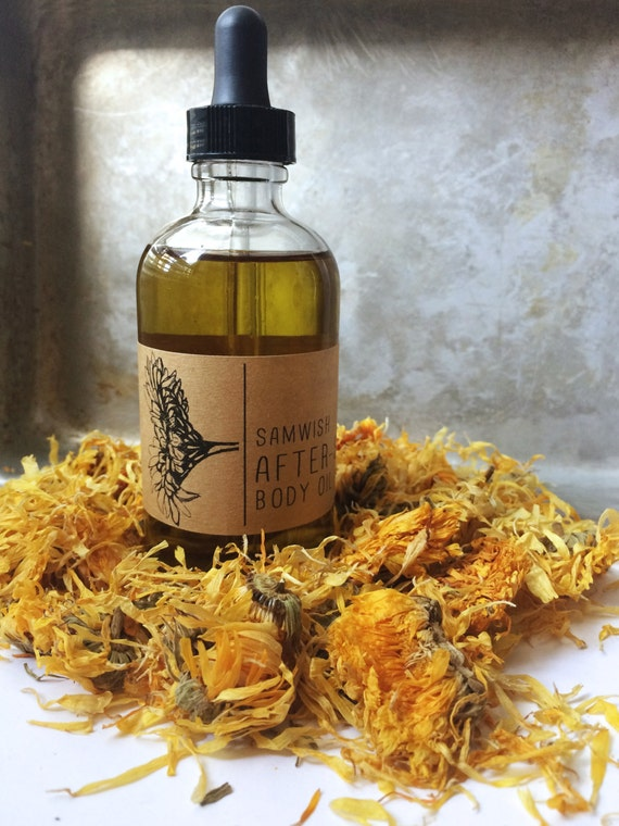 After-Sun Body Oil // Organic