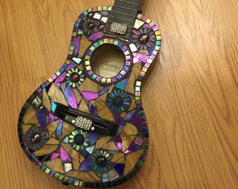 MOSAIC GUITAR- Multicolor Youth Guitar