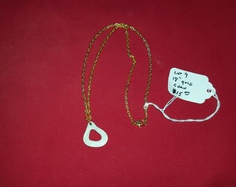 antler necklace lot 9