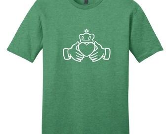 Irish Claddagh - St. Patrick's Day T-Shirt