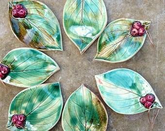 Handmade Ornament, Christmas Ornament, Pottery Ornament, Tree Decoration