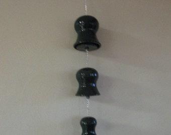 Green Ceramic Windchime Bells