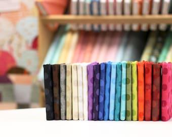 Grunge Basics {Polka Dot} - Fat Eighth Bundle by Basic Grey 20 Fabrics - Great Stash Builder!