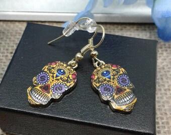 Sugar Skull Earrings