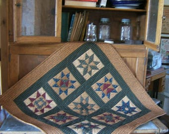 Star Quilt Table Topper or Wall Hanging (Item #129)