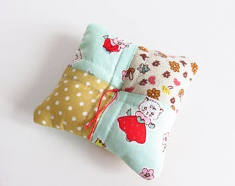 Whimsy Fabric Pin Cushion.