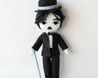 Charlie Chaplin pdf Pattern