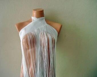 Fringe Wrap skirt